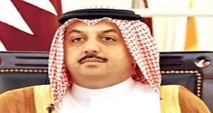 وزير الخارجية القطري -خالد بن محمد العطية