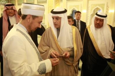 وزير الخارجية عادل الجبير مع وزير خارجية كازاخستان.jpg10