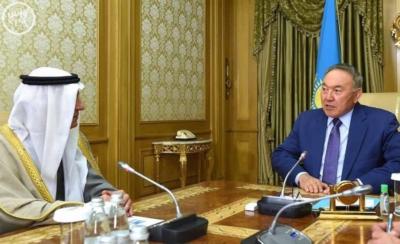 وزير الخارجية عادل الجبير مع وزير خارجية كازاخستان.jpg23