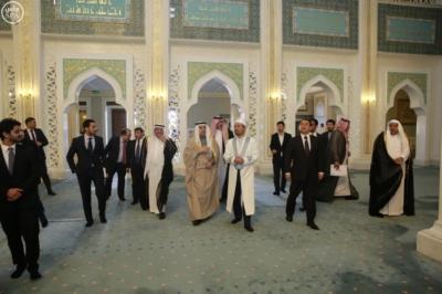 وزير الخارجية عادل الجبير مع وزير خارجية كازاخستان.jpg2