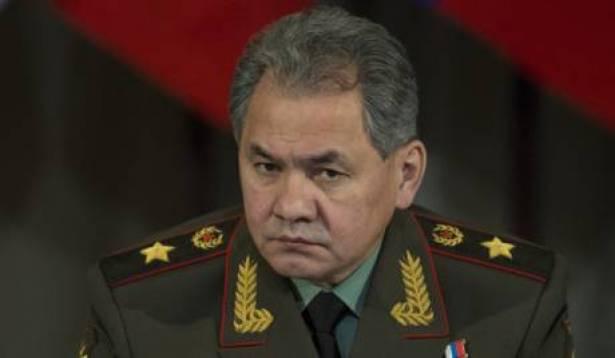 وزير الدفاع الروسي، سيرغي شويغو،
