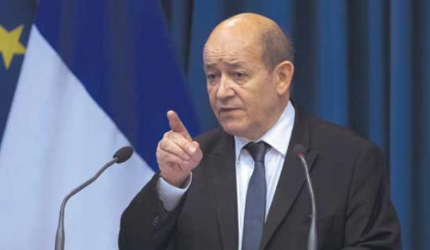 وزير-الدفاع-الفرنسى-جان-ايف-لودريان