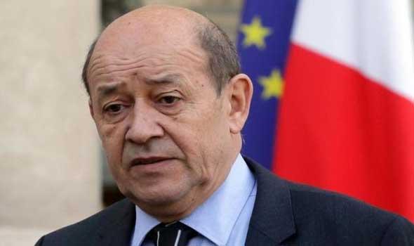 وزير-الدفاع-الفرنسي-جان-إيف-لودريان