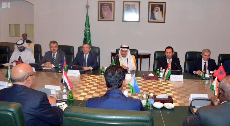 وزير الدولة للشؤون الخارجية يستقبل رؤساء البعثات الدبلوماسية للدول الإسلامية لدى المملكة