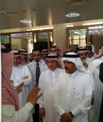 وزير الصحة يزور مستشفيات الخرج (2)