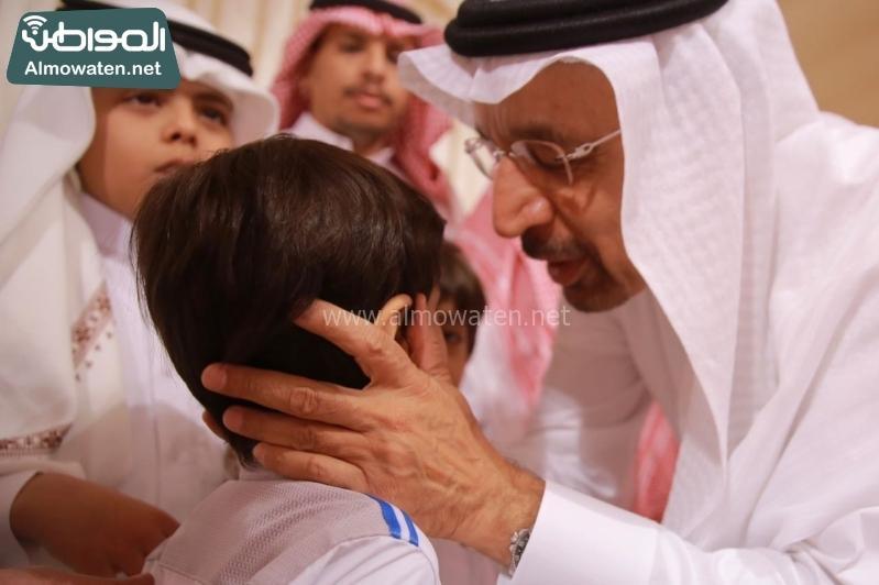 وزير الطاقة الفالح يعزي اسر ضحايا الوسيع 1