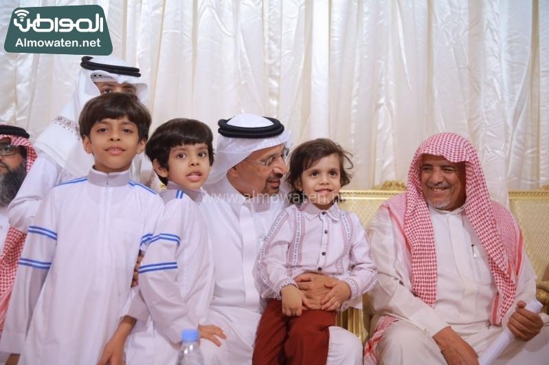 وزير الطاقة الفالح يعزي اسر ضحايا الوسيع 2
