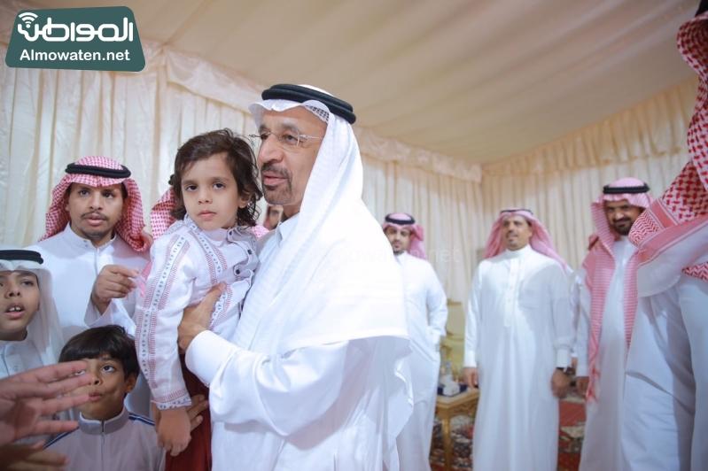 وزير الطاقة الفالح يعزي اسر ضحايا الوسيع 4