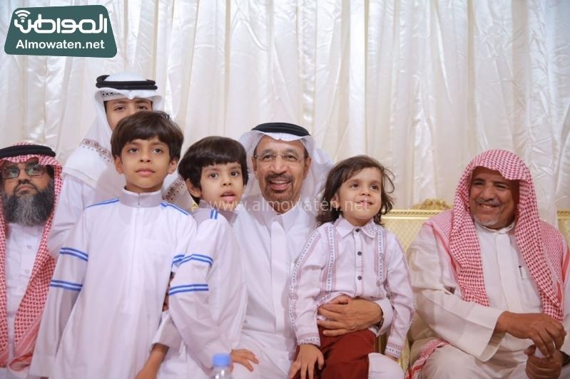 وزير الطاقة الفالح يعزي اسر ضحايا الوسيع 5