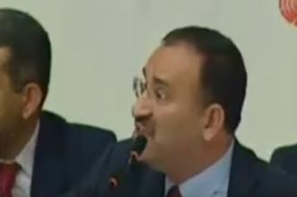 شاهد.. وزير العدل التركي يهاجم نائباً دافع عن الأسد - المواطن