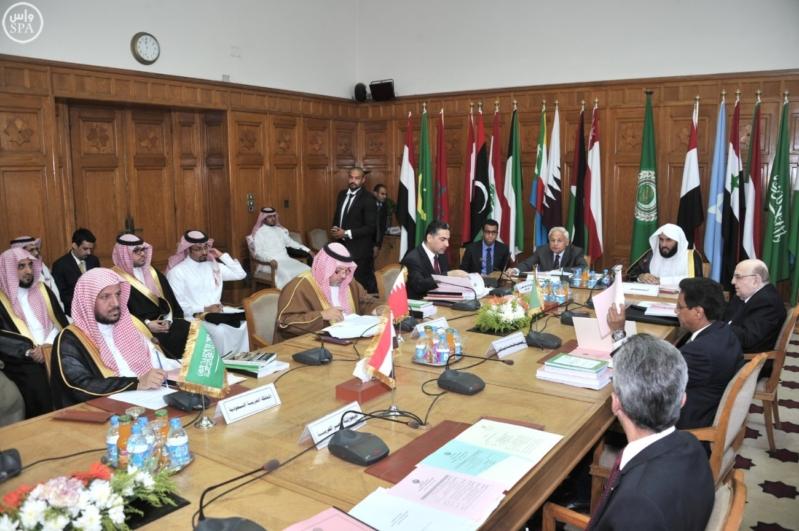 وزير العدل يرأس الاجتماع الـ (58) للمكتب التنفيذي
