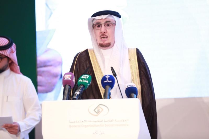 وزير العمل والتنمية الاجتماعية خلال كملته في افتتاح أعمال الاجتماع
