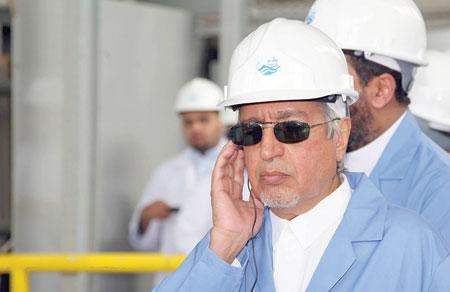 وزير المياه والكهرباء رئيس مجلس إدارة شركة المياه الوطنية المهندس عبدالله الحصين