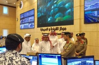 وزير النقل يستمع لشرح مفصل عن خطة مركز القيادة والسيطرة لأمن الحج - المواطن