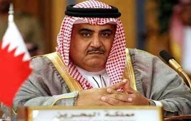 وزير خارجية البحرين الشيخ خالد آل خليفة أمام