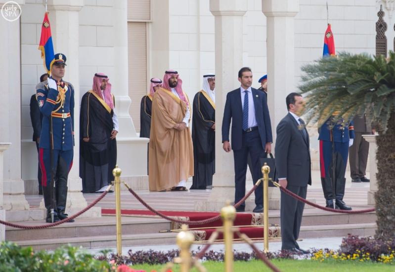 وصل الملك الى مصر
