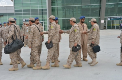 وصول القوات الجوية السعودية المشاركة في نسر الأناضول -4 (1)