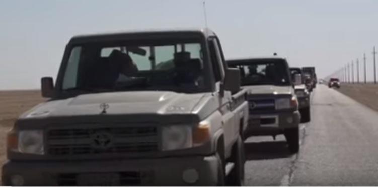 وصول القوات القطرية