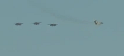 وصول المقاتلات السعودية