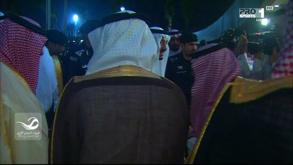 وصول الملك سلمان إلى ملعب الجوهرة1