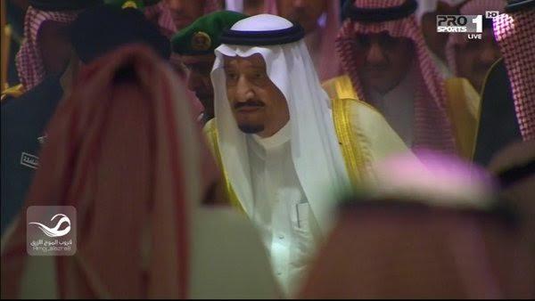 وصول الملك سلمان إلى ملعب الجوهرة4