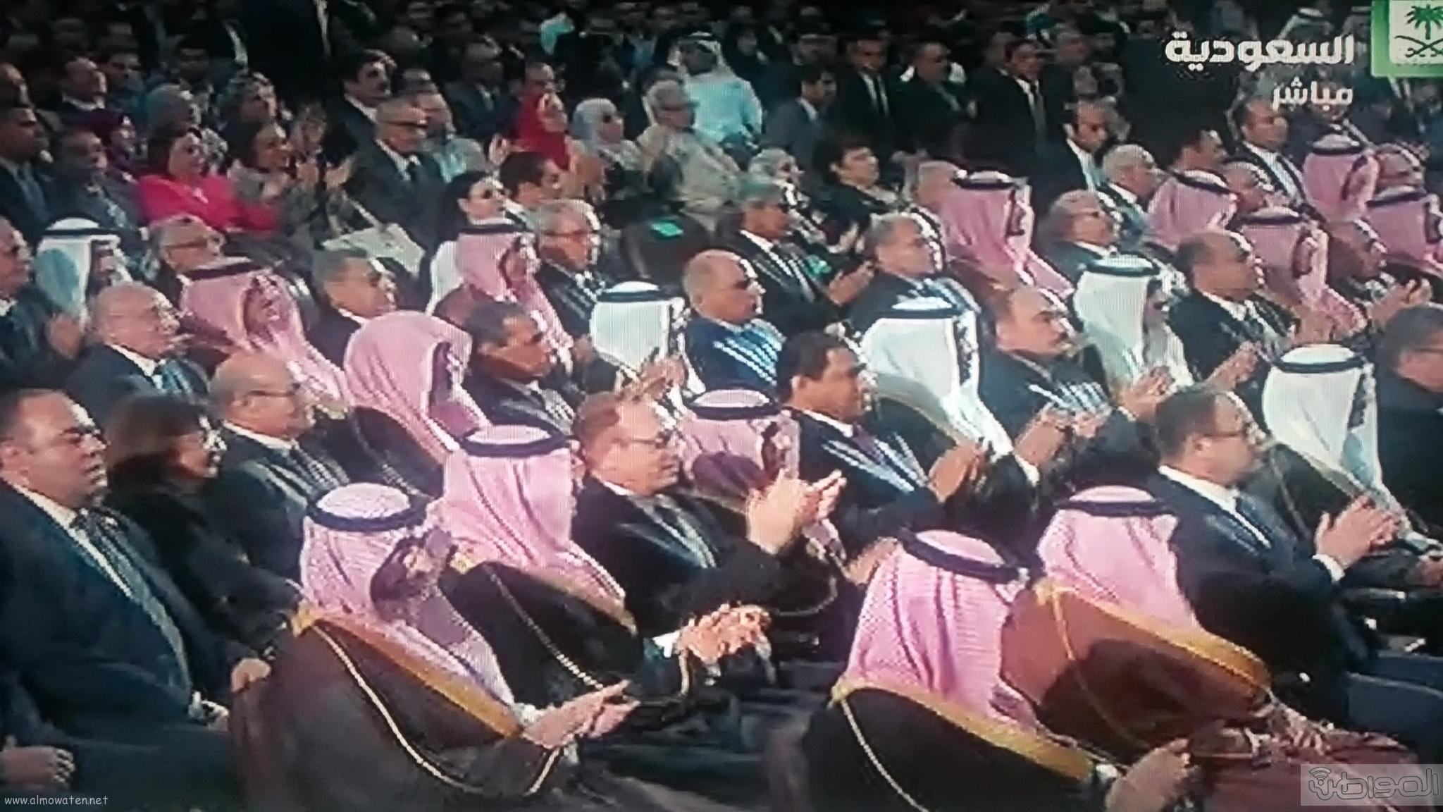 وصول الملك سلمان لجامعة القاهرة (4)