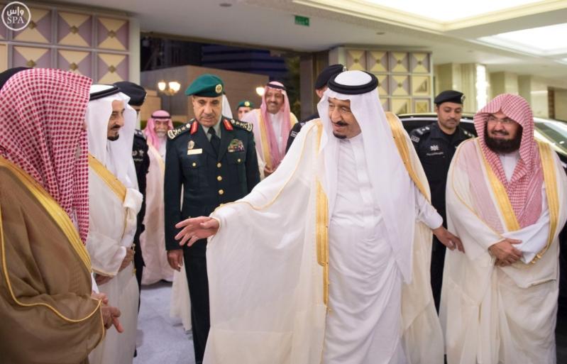 وصول الملك مكة 2