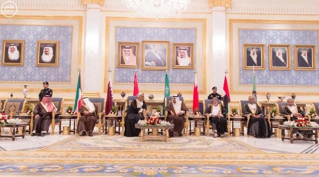وصول-قادة-الخليج