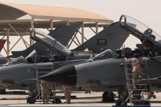 شاهد.. وصول مقاتلات التورنيدو #السعودية المشاركة في #تمرين_الحرب_الصاروخي - المواطن