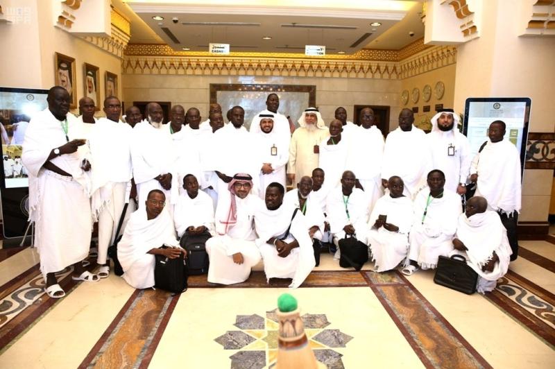 وصول 845 حاجاً من ضيوف برنامج خادم الحرمين الشريفين للحج