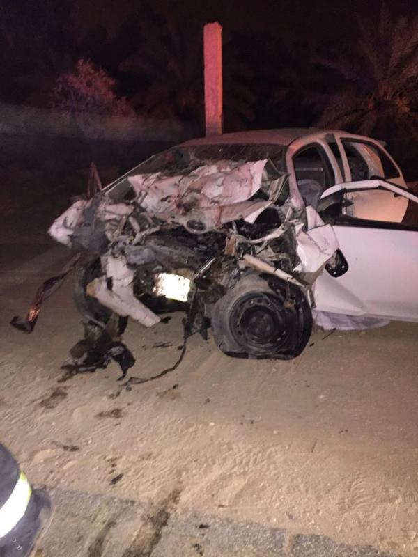 وفاة اثنين وإصابة ثالث في حادث ببريدة 1