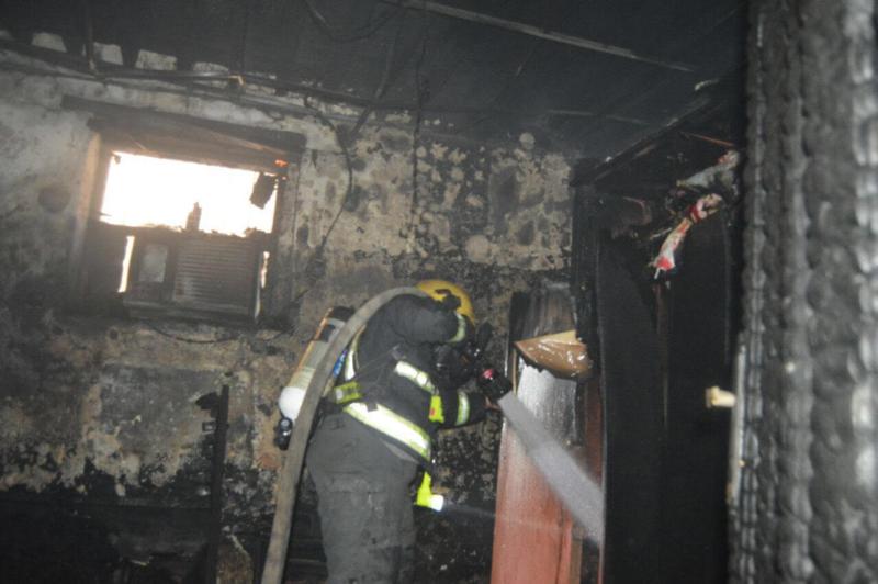 وفاة رضيع اختناقًا بحريق في منزل بالمدينة4