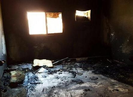 وفاة رضيع في احتراق شقة بـ«ميقوع الجوف» (2)