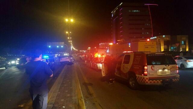 وفاة شخصين وإصابة اثنين في حادث سير (1)