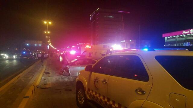 وفاة شخصين وإصابة اثنين في حادث سير (654023406) 