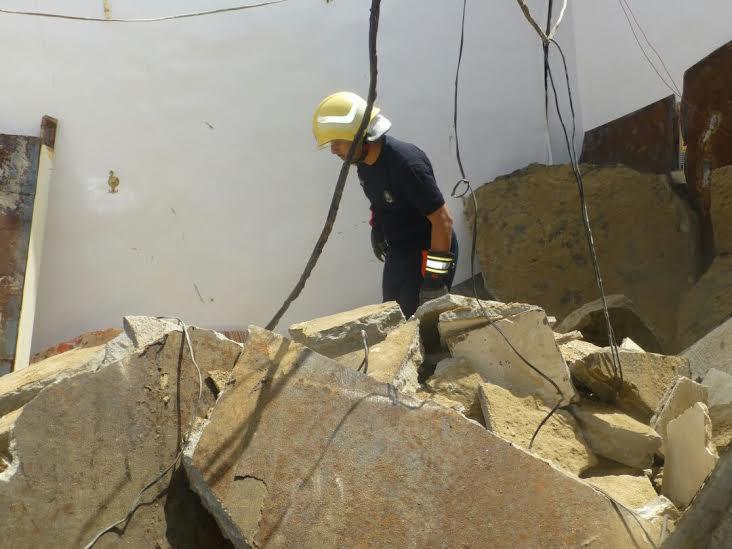 وفاة شخص إثر انهيار سقف منزل بجازان3