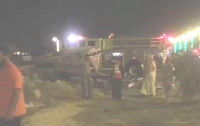 وفاة شخص وإصابة 3 آخرين في حادث تصادم مروع بتنومة