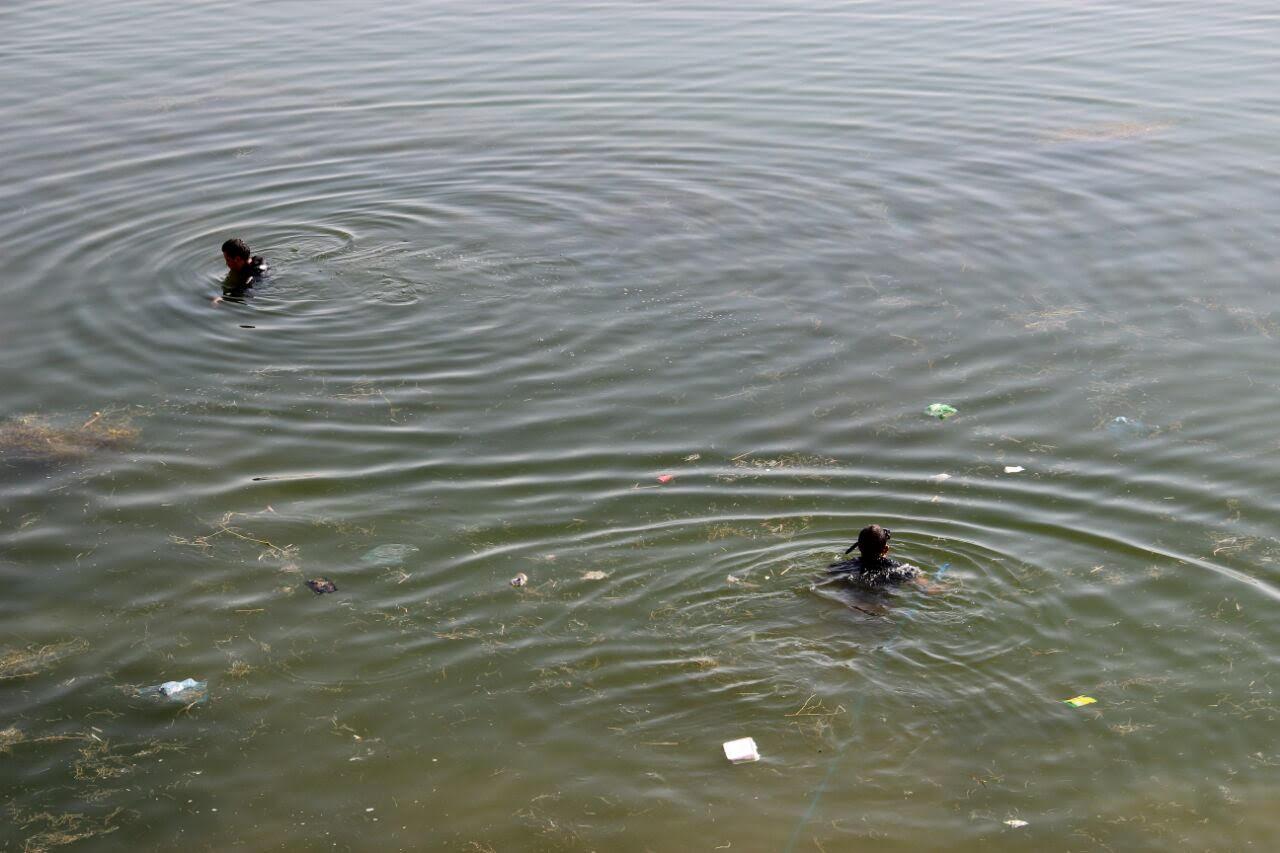 وفاة طفلة غرق في بحيرة أجا بحائل (2)