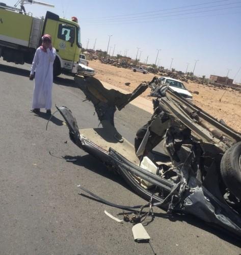 وفاة معلم في حادث مروع (1)