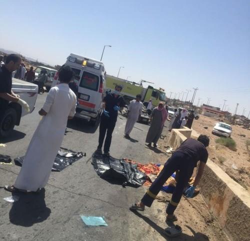 وفاة معلم في حادث مروع (2)