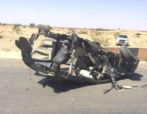 وفاة معلم في حادث مروع (3)