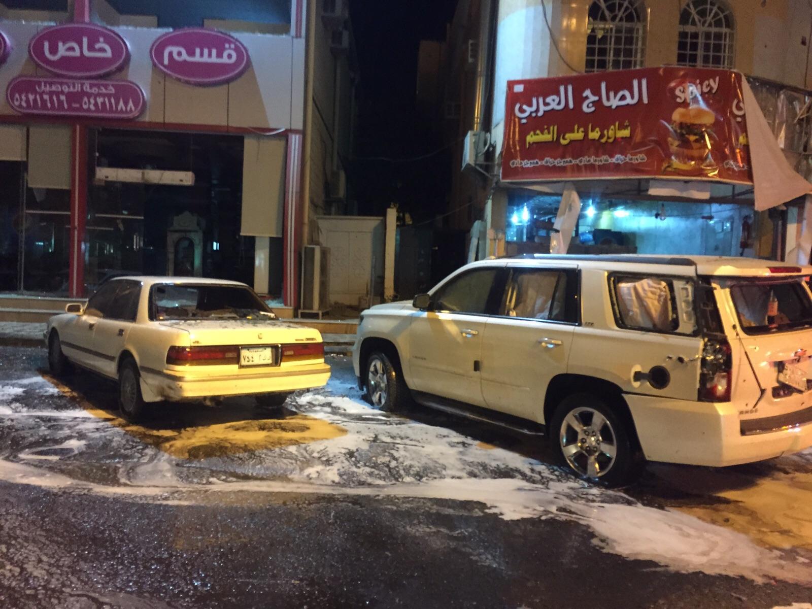 وفاة مقيم جراء سقوط قذائف حوثيه على نجران (2)