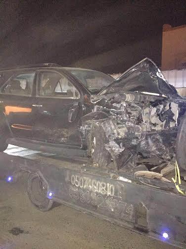 وفاة وأصابتين بحادث تصادم مروري1