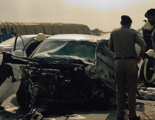 وفاة وإصابة شخصين في حادث تصادم بـجازان