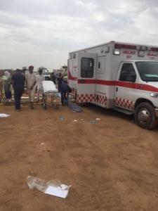 وفاة وإصابة ٤٦ شخصًا بحادث حافلة المعتمرين بالمدينة - اسعاف