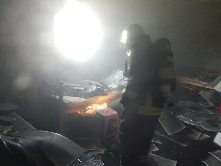 وفاة وإصابة 7 أشخاص بحريق منزل بأحد المسارحة1
