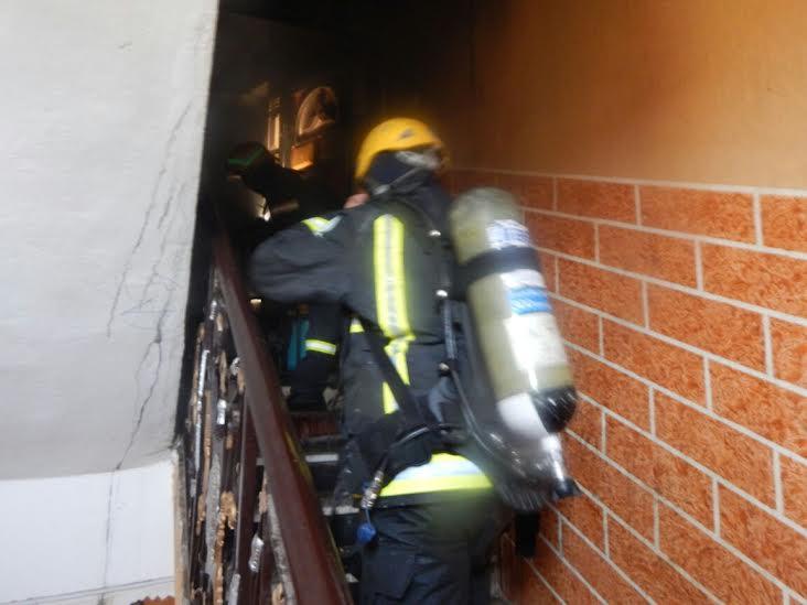 وفاة وإصابة 7 أشخاص بحريق منزل بأحد المسارحة2