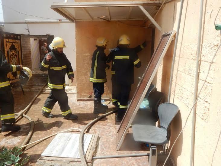 وفاة وإصابة 7 أشخاص بحريق منزل بأحد المسارحة4