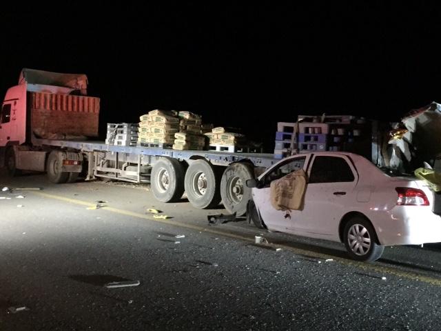 وفاة وافد عربي بحادث اصطدام بجديدة #عرعر (1)