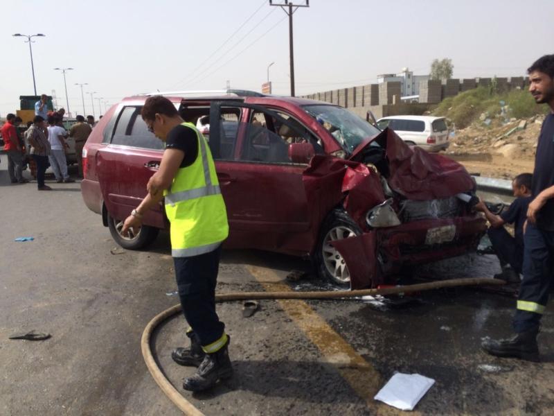 وفاة و8 إصابات في حادث مروع بدولي جازان (348166110) 